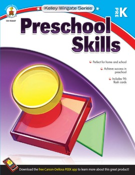 Kelley Wingate Preschool Skills SALE 20% OFF! 104637