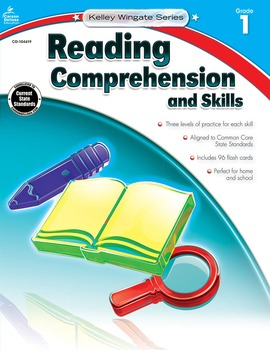 Kelley Wingate Reading Comprehension and Skills Grade 1 SALE 20% OFF! 104619
