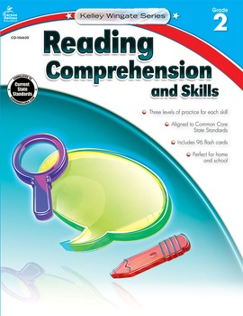 Kelley Wingate Reading Comprehension and Skills Grade 2 SALE 20% OFF! 104620