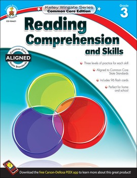 Kelley Wingate Reading Comprehension and Skills Grade 3 SALE 20% OFF! 104621
