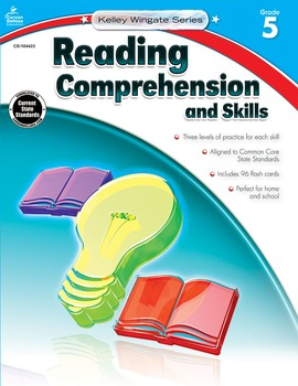 Kelley Wingate Reading Comprehension and Skills Grade 5 SALE 20% OFF! 104623