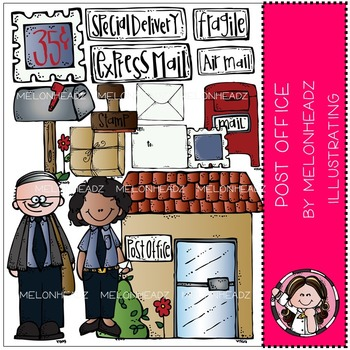 Post Office clip art - COMBO PACK - by Melonheadz