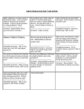 Kelso S Choices Worksheets Teaching Resources Tpt
