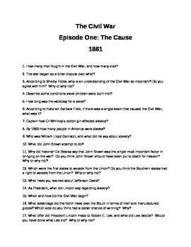Ken Burns Civil War: Episode I