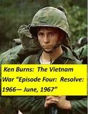 Ken  Burns Vietnam Episode 4  Questions, Quiz and Answer keys