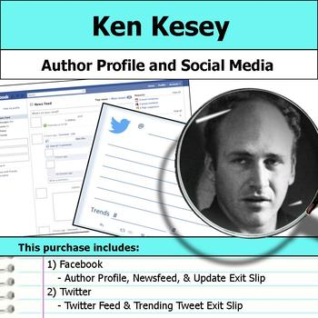 Ken Kesey - Author Study - Profile and Social Media