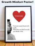 Kendrick Lamar Growth Mindset Poster Critical Thinking Prompt