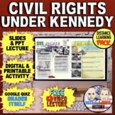 """Kennedy and Civil Rights & the """"I Have A Dream"""" Speech Bundle"""