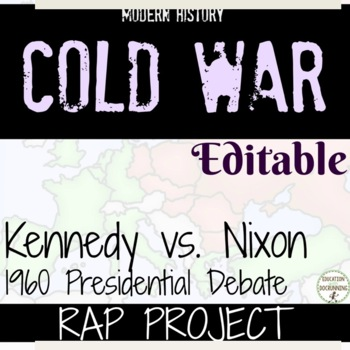 Kennedy Nixon Project Debate Rap EDITABLE