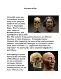 Kennewick Man Common Core Activity