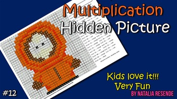 Kenny - Multiplication Mystery Picture - Fun Math