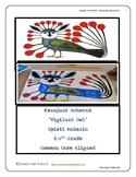 Kenojuak Ashevak Canadian Art lesson K 6th Grade Owl Spiri