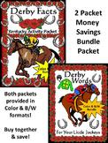 Kentucky: Derby Facts & Words Bundle Color plus Black & White Grayscale