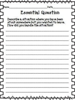 Kensuke's Kingdom Journeys 6th Grade Unit 2 Lesson 9 Activities and Printables