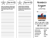 Kensuke's Kingdom Trifold - Journeys 6th Grade Unit 2 Week 4 (2014, 2017)