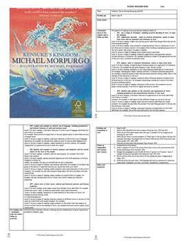 Kensuke's Kingdom Guided Reading Plans