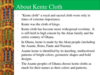 Kente Cloth Repetition Project