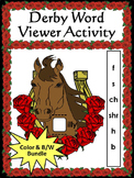 Kentucky: Derby Word Viewer Activity Bundle Color plus Black & White