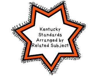 Kentucky Arts Standards Arranged by Related Subject
