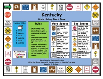 Kentucky Board Game