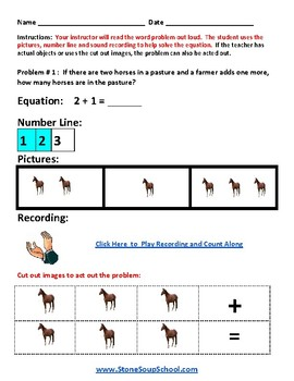 Kentucky  - Common Core - K Operations and Algebraic Thinking