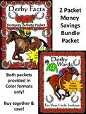 Kentucky Derby Activities: Derby Facts & Words Bundle Color Version