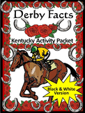 Kentucky Derby Activities: Derby Facts Activity Packet Bla