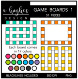 Game Boards Clipart Set 1 {A Hughes Design}