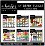 Kentucky Derby Clipart Bundle {A Hughes Design}
