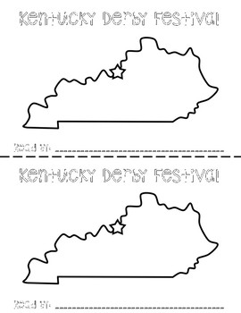 Kentucky Derby Festival Emergent Reader
