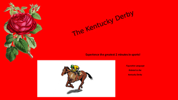 Kentucky Derby Figurative Language