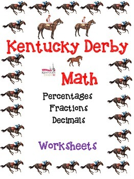 Kentucky Derby Fractions, Decimals, Percents
