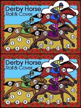 Kentucky: Derby Horse Roll & Cover