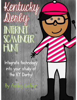 Kentucky Derby Internet Scavenger Hunt
