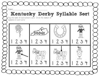 Kentucky Derby Math and Literacy Fun