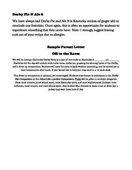 Kentucky Derby Party & Parade Ideas for Kentucky Studies