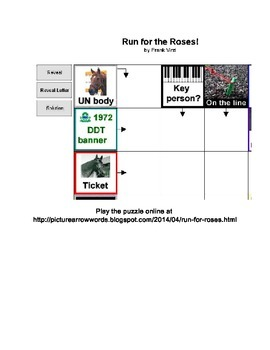 Kentucky Derby Play-Online Puzzle - Run for the Roses!