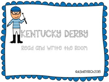 Kentucky Derby Read and Write the Room