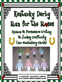 Kentucky Derby Run for the Roses Writing Activities and Jockey Craft