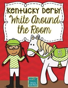 Kentucky Derby Write Around the Room