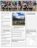 Kentucky Derby worksheet