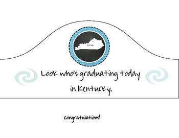 Kentucky Graduation Hat