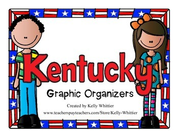 Kentucky Graphic Organizers (Perfect for KWL charts and geography!)