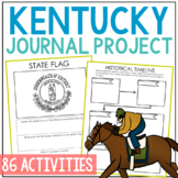 KENTUCKY History Project, Differentiated State Research Journal {EDITABLE}