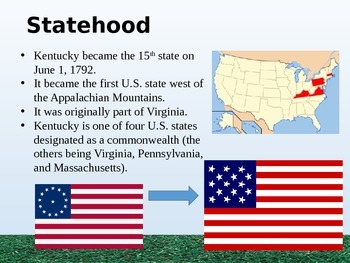 Kentucky History PowerPoint - Part II