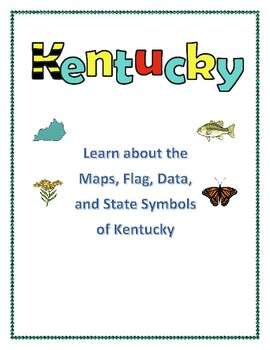 Kentucky Maps, Flag, Data, and Geography Assessment