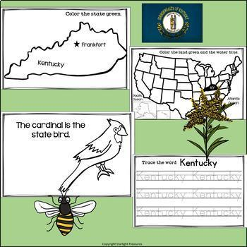 Kentucky Mini Book for Early Readers - A State Study
