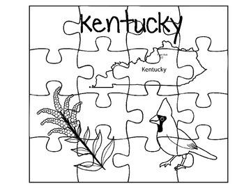 Kentucky Puzzle Set