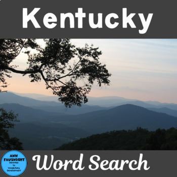 Kentucky Word Search