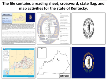 Kentucky - State Activity Set
